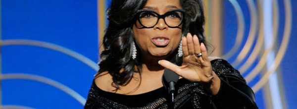 The Golden Globe Acceptance Speech of Oprah