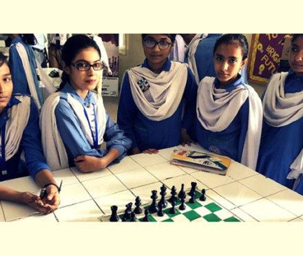 Way to go girls! Rocking Chess!