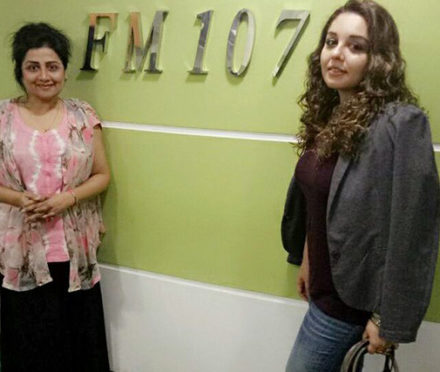 FM-107-My First Experience with Radio - Tvinkal & RJ Shagufta Yasmeen