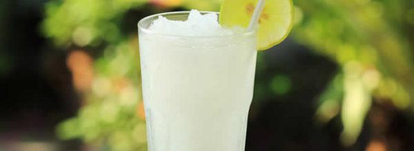 A slushy Lemonade for Iftar!